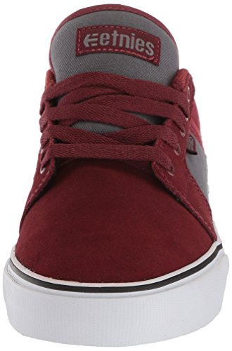 Etnies BARGE LS Herren Skateboardschuhe Red/grey