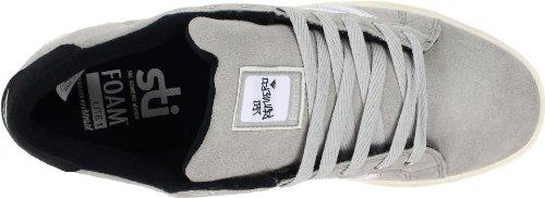 Emerica THE LEO The Leo, Chaussures de skateboard mixte adulte Gris (TR-B1-Gris-140)