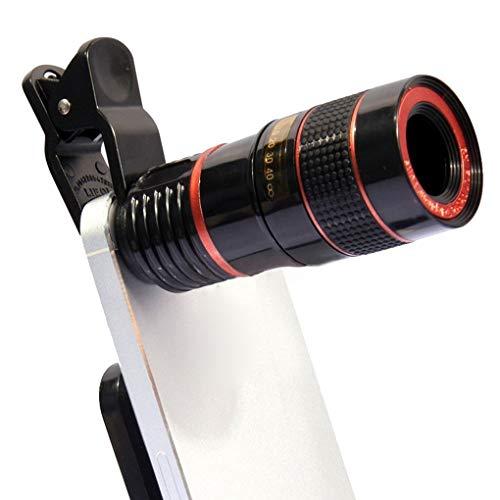 Lente cámara 8X Telescopio Universal Zoom óptico