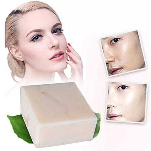 HONGSHAN 60g Handgemachte Thailand Reismilch Seife Whitening Feuchtigkeitsspendende Erhellen Haut Waschen Gesicht Körperreinigung Seife Unisex -