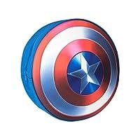 Marvel Boys Captain America Shield Backpack, 31.4 x 30 x 5.4 cm, Multicoloured