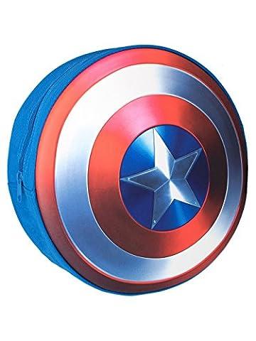 Marvel Boys Captain America Shield Backpack