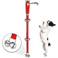 ducomi® Dring Dog–System-Training für Hunde–Glocken zum Aufhängen der Tür um den Hund von kommunizieren Wenn braucht von befreien