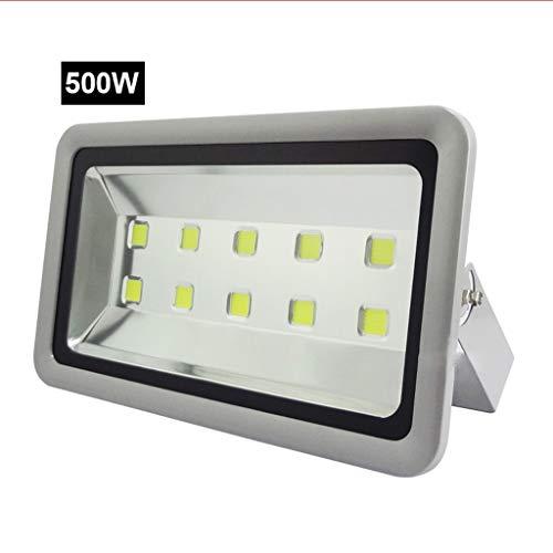 Preisvergleich Produktbild Xien Scheinwerfer LED Strahler Mit Außenarbeitslicht Wasserdicht Blitzschutz IP65-Stadiontechnik Leuchtet Werbeleuchten (Farbe : 500W,  größe : Weißes Licht)