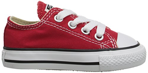 Converse Ctas Season Ox, Baskets mode mixte enfant Blanco-Rojo