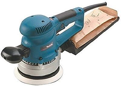 Makita BO6030 - Lijadora Rotorbital Electronica 150 Mm 310W 4000-10000 Rpm 2.4 Kg