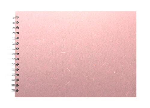 Pink Pig Skizzenblock, A4, Querformat, Hellrosa