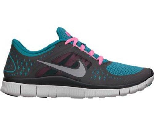 Nike Free Run+ 3 Turquoise 510642 406 anthrazit/türkis