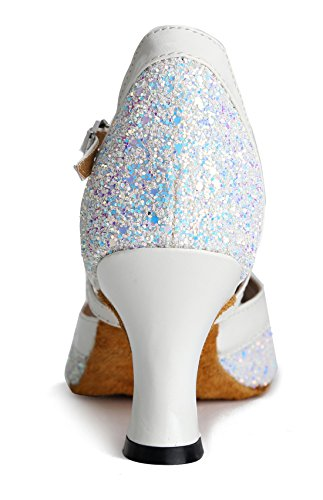 TDA - Peep-Toe donna 7cm White