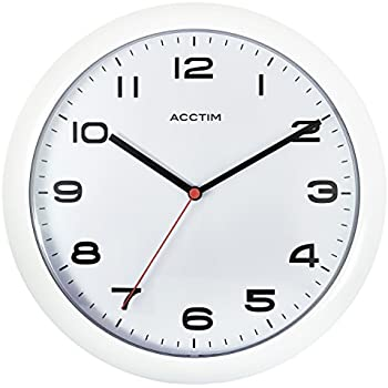 Unity Radcliffe Silent Sweep Wall Clock Black Amazoncouk