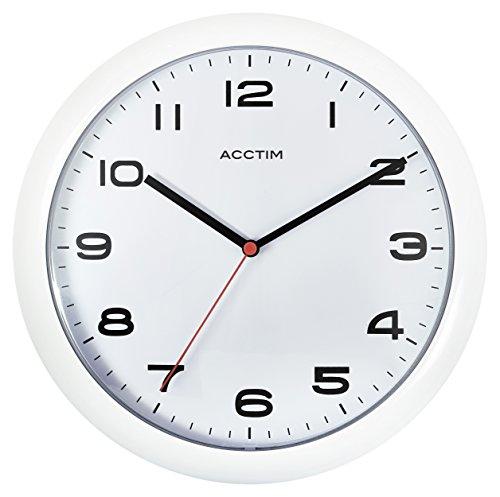 Acctim 92/ 301 Aylesbury Wall Clock, White