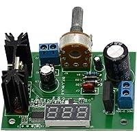 Regulador de Voltaje Módulo Reductor, Regulador de Voltaje Ajustable Módulo Reductor CA/CC a 5v 12v Pantalla LED