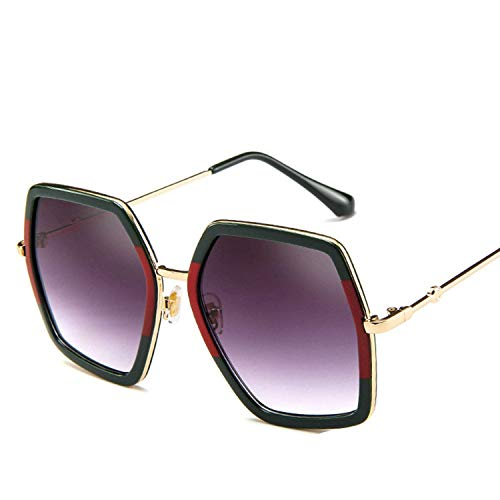 OULN1Y Sport Sonnenbrillen,Vintage Sonnenbrillen,Square Sunglasses Women Vintage Retro Big Frame Sunglasses Female Sun Glasses For Women Shades