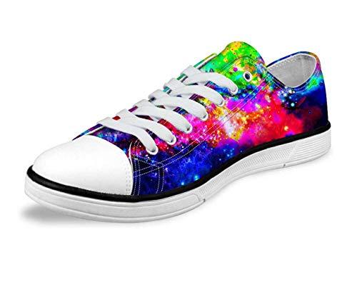 Galaxy Hi Top Ladies Canvas Trainers Shoes Low Top Flat Lace Up Plimsolls Pumps C0166AP Fashion Space UK 11.5 = EUR 45 (Men's) Nina Ankle Strap Heels