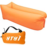 Inflatable Lounger, Portable Air Beds Sleeping Chair Sofa Couch Ideal For Lounging, Camping, Beach, Fishing, Chilling, Parties, Swimming Pools, Travelling, Backyard, Park