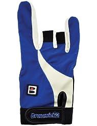 Brunswick Power X - Guante de bolos, color negro/azul, talla XL/Right Hand