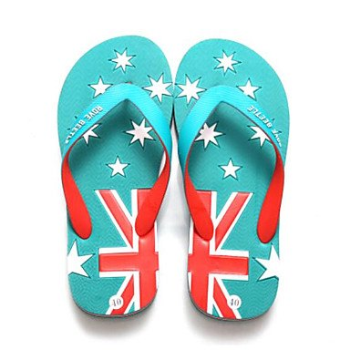 Sandali casuali piani del tallone Slippers & Estate laccio dietro uomini di gomma del sandali US9.5 / EU42 / UK8.5 / CN43