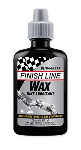 Finish Line Línea de meta apretar botella de goteo de cera lubricante para cadena de bicicleta