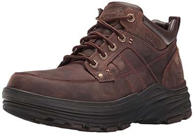 Skechers Men's Holdren Lender Chukka Boot, Dark Brown, 6.5 D(M) US