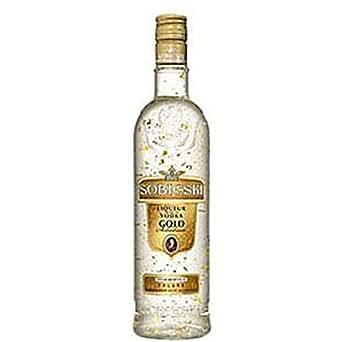 SOBIESKI-Sobieski Gold 70cl agrémentée de paillettes d'or