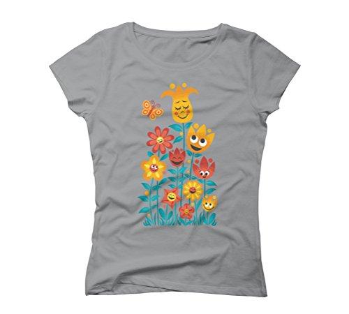 Small Garden Women's Graphic T-Shirt - Design By Humans Opal