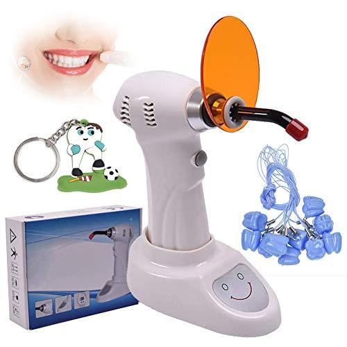 CWWHY Big Power LED, Das Whitening-Licht, Zahnweiß-Laborausrüstung, Mit Zahnmedizinischem Aufbewahrungsbehälter Und Karikatur Keychain Kuriert - Light-zahnweiß-system