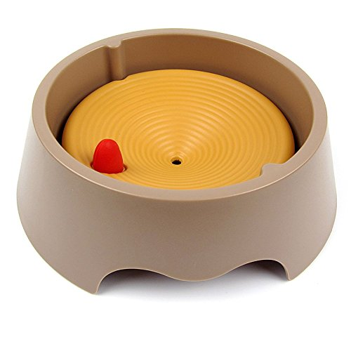 Hundewasserschale No Spill, Slow Drinking Hundewasserschale Slow Bowl für Hunde Große Slow Water Bowl Dogs Anti-Choking Anti-Spill Bowl -