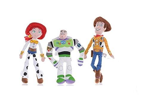Peluche Toy Story 320,3cm Lot (Buzz, Woddy & Jess)