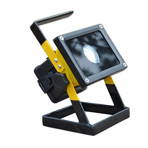 Flood Light,Clode® 30W 2400LM T6 LED Portable Rechargeable Flood Light Mobile Site Cast Light Work Light Caravan Camping Lamp