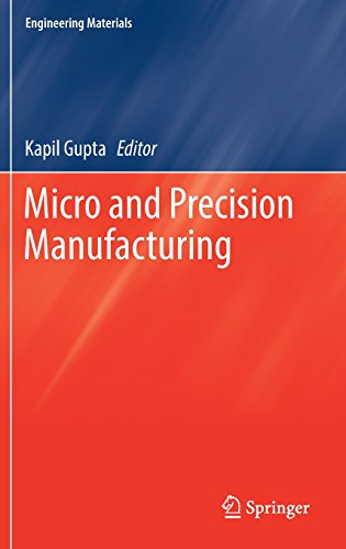 Micro and Precision Manufacturing (Engineering Materials)