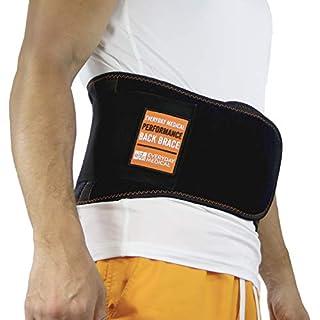 Everyday Medical Rückenbandage mit Stützstreben bei Rückenschmerzen & als Arbeitsschutz | Als Rückengurt, Rückenstützgürtel, Wirbelsäulen Stütze, Rückenbandage Lendenwirbel, Rückengürtel & Beckengurt