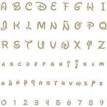 Amazon Fr Pochoir Lettres Alphabet