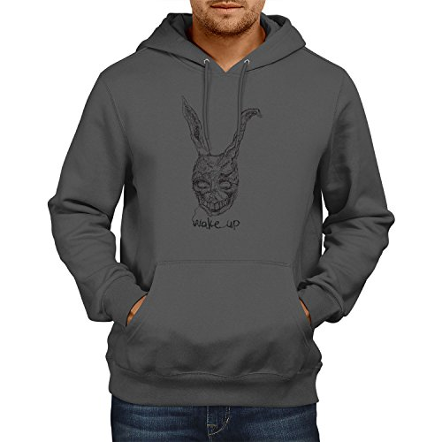rren Kapuzenpullover, Größe M, grau (Frank Bunny-kostüm)