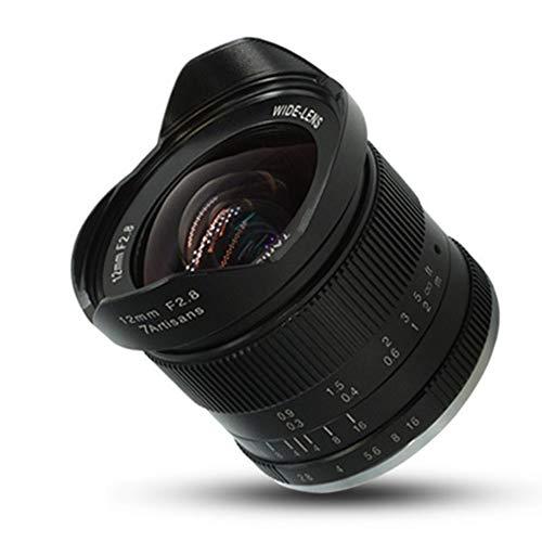 Preisvergleich Produktbild 7artisans 12mm f2.8 Ultra Weitwinkelobjektiv für Sony für Canon für Fuji APS-C spiegellose Kameras Manueller Fokus Prime Fixed Lens