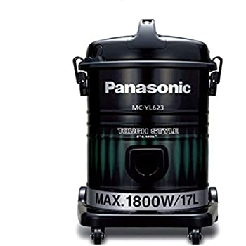 this item panasonic mcyl623 canister vacuum cleaner black u0026 green tough series - Panasonic Canister Vacuum