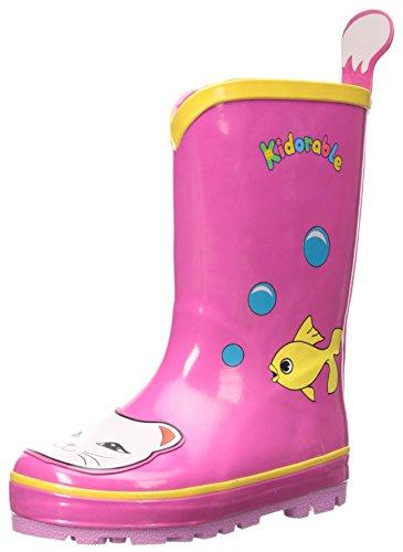 Kidorable Originale di Marca Stivali di Gomma Gatto per bambini, ragazze, ragazzi