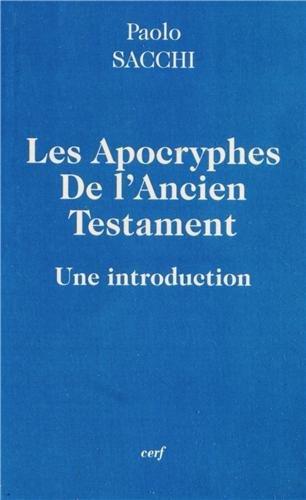Les apocryphes de l'Ancien Testament : Une introduction par Paolo Sacchi