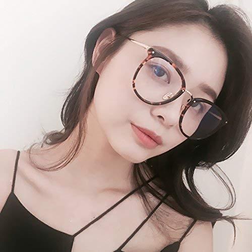SCJ Transparente Brille Frame-Stil weibliche Han Ban Chao rundes Gesicht Korea beleben alte Bräuche der Literatur Gesicht ohne Make-up Absolute Maschine zu Sein, um zusammen mit Brille für Nahsi