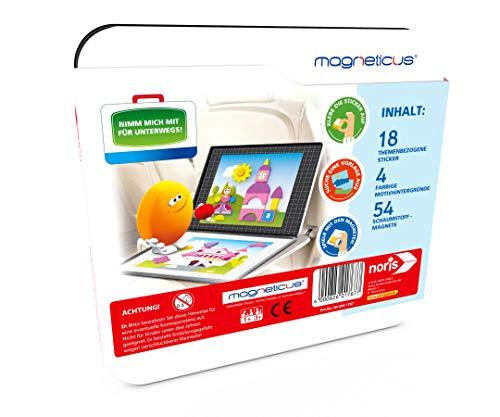 Noris Spiele 606041767 - magn eticus magnético Mosaico - Princesa