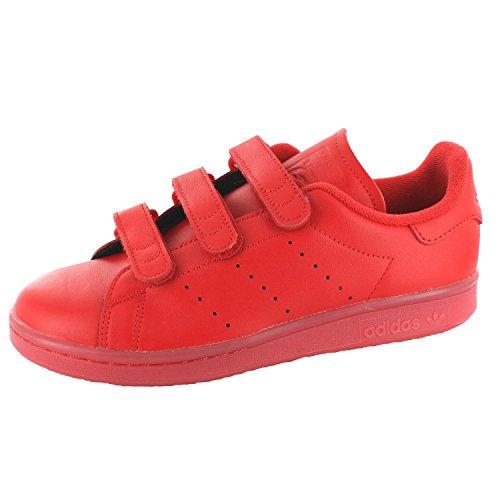 adidas Stan Smith Cf, Basket mixte adulte Rouge