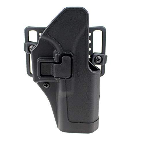 Gexgune Taktische rechte Hand CQC Pistole militärische Concealment Taille Gürtel Loop Paddle Glock 17 19 22 23 31 -
