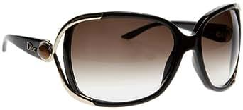 Christian Dior Women's Dior Copacabana Brown Frame/Grey Gradient Lens Plastic Sunglasses