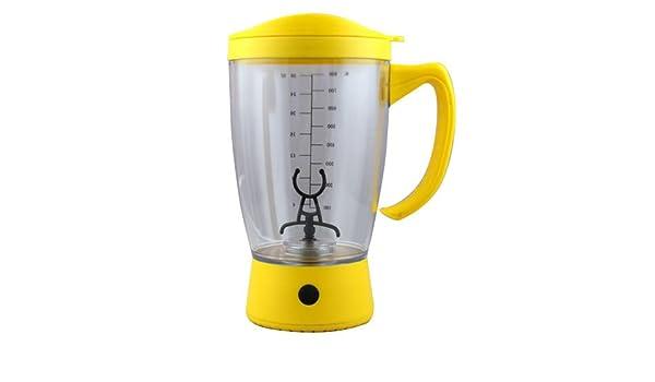 Portable boissons Mixer Tasse Shake Batterie Protéine Shaker Blender Tasse Vert