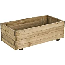 Forest-Style - Jardinera Madera Rectangular 63L.