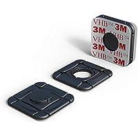 ClickClix Sistema de fijación Ideal Via-t/Telepeaje / Teletac, móvil, GPS, Router Adhesivo (Patentado) (6 Unidades, Negro)