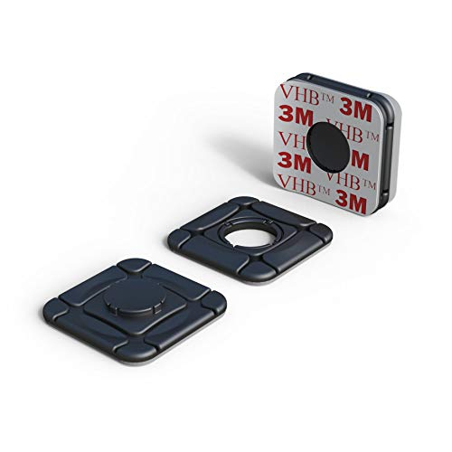 ClickClix Sistema de fijación Ideal Via-t/Telepeaje / Teletac, móvil, GPS, Router Adhesivo...