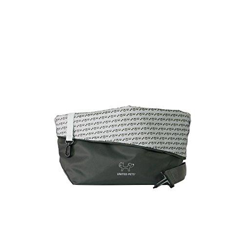 United Pets Sling Bag Dog Carrier, Grey 4