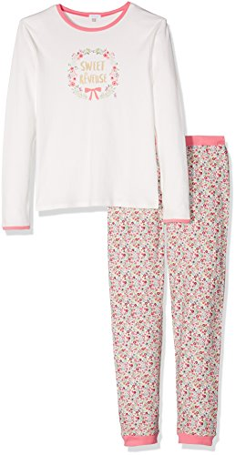 Absorba Boutique Nuit, Ensemble de Pyjama Fille, Rose (Sorbet), (Taille Fabricant: Small)