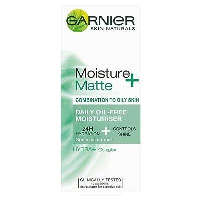 Garnier Moisture+ Matte Daily Oil-Free Moisturiser, 50ml from L'Oreal