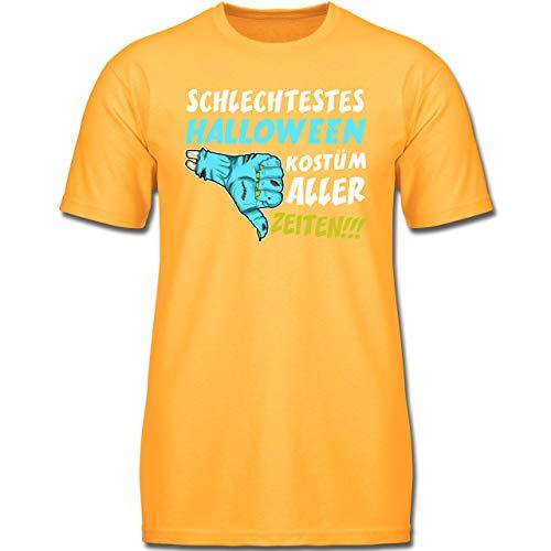 Anlässe Kinder - Schlechtestes Halloween Kostüm Aller Zeiten - 164 (14-15 Jahre) - Gelb - F130K - Jungen Kinder T-Shirt (Schlechte Halloween-kostüme 2019)